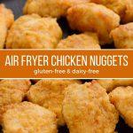 Air fryer gluten-free chicken nuggets