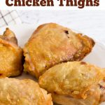 Crispy fried chicken made in an air fryer.