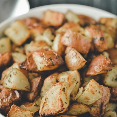 Air Fryer Red Potatoes Roasted with Parsley