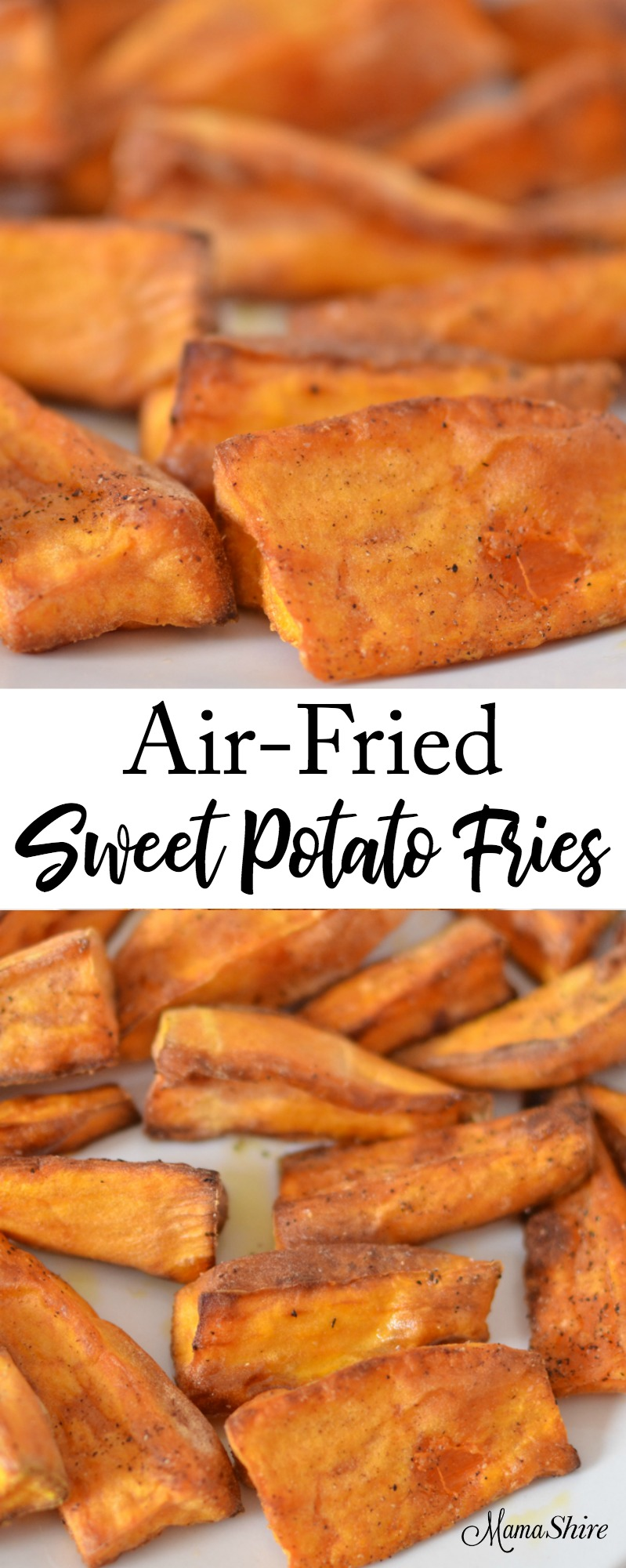 Air-Fried Sweet Potato Fries - Gluten-free, Trim Healthy Mama-E