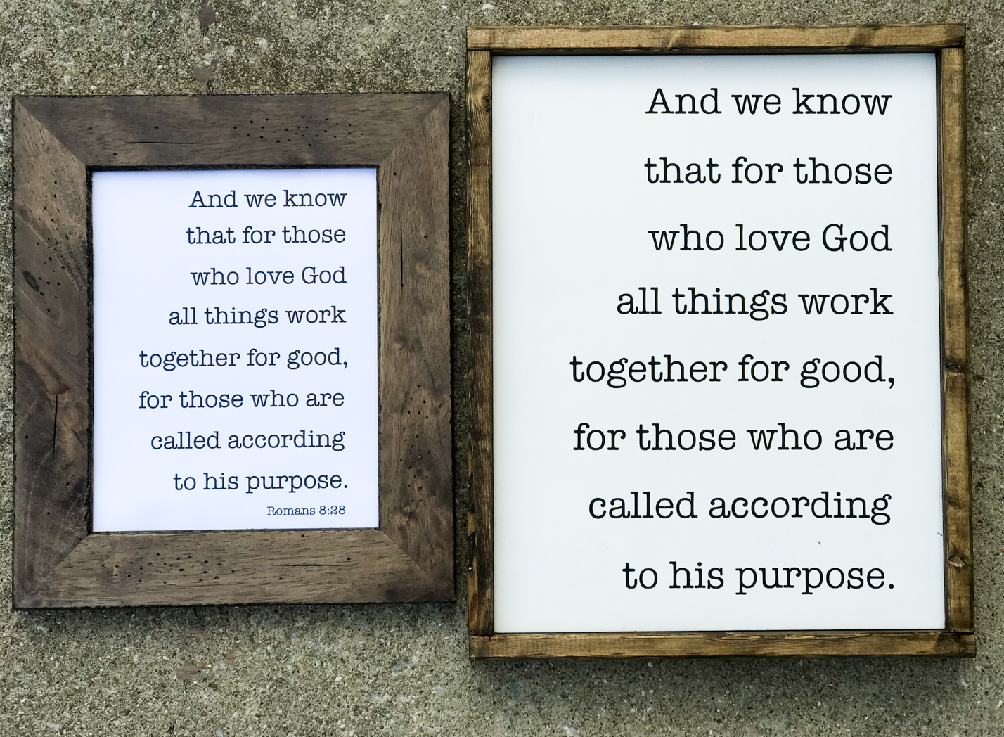 All Things Work Together For Good Printable & SVG