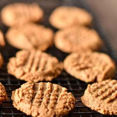 Gluten-Free Almond Butter Cookies