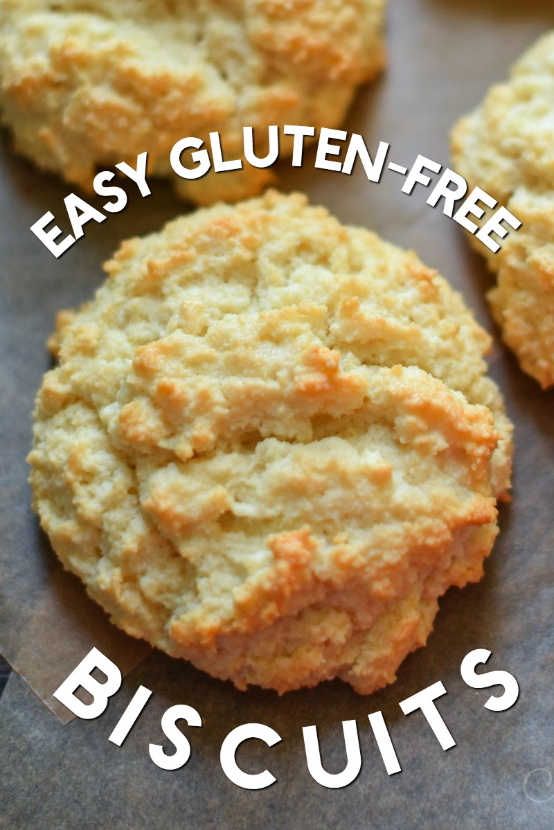 Delicious gluten-free biscuits that are easy to make!