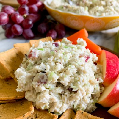 Gluten-Free Chicken Salad With Grapes (Dairy-Free)
