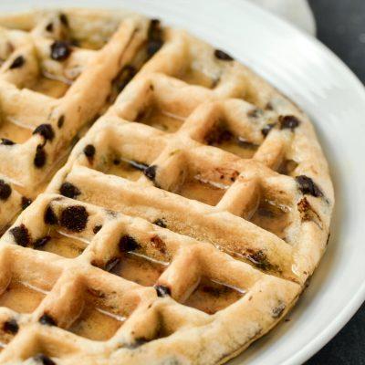 Gluten-Free Chocolate Chip Waffles (Dairy-Free)