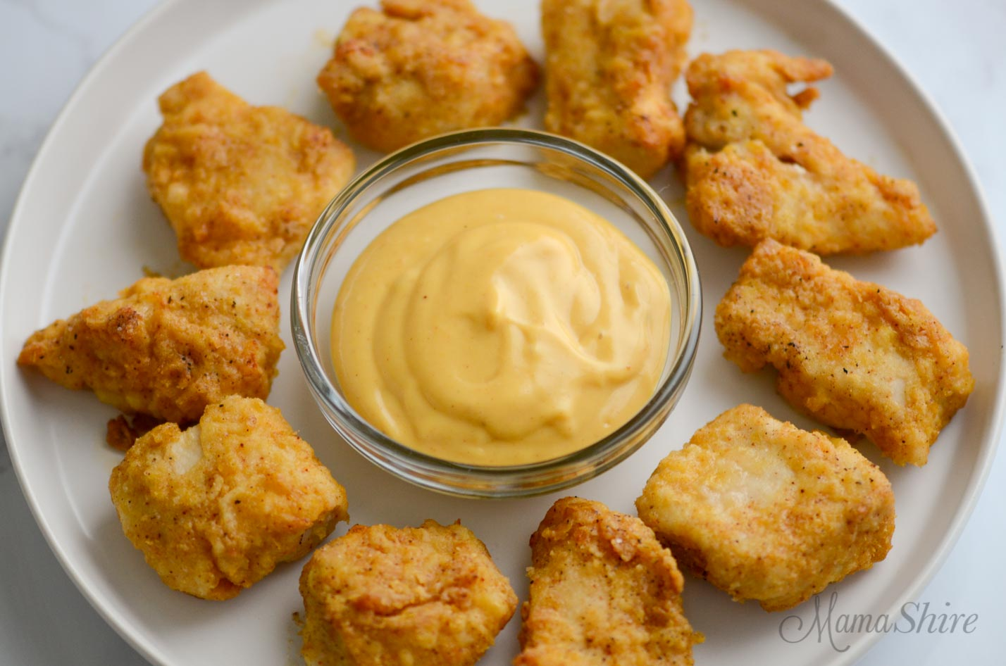 A bowl of gluten-free homemade Chick-Fil-A sauce