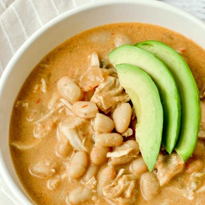 Creamy White Chicken Chili (Dairy-Free)
