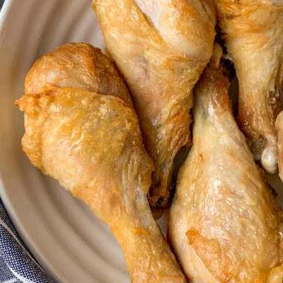 Easy Air Fryer Chicken Legs Recipe (Gluten-Free & Keto)