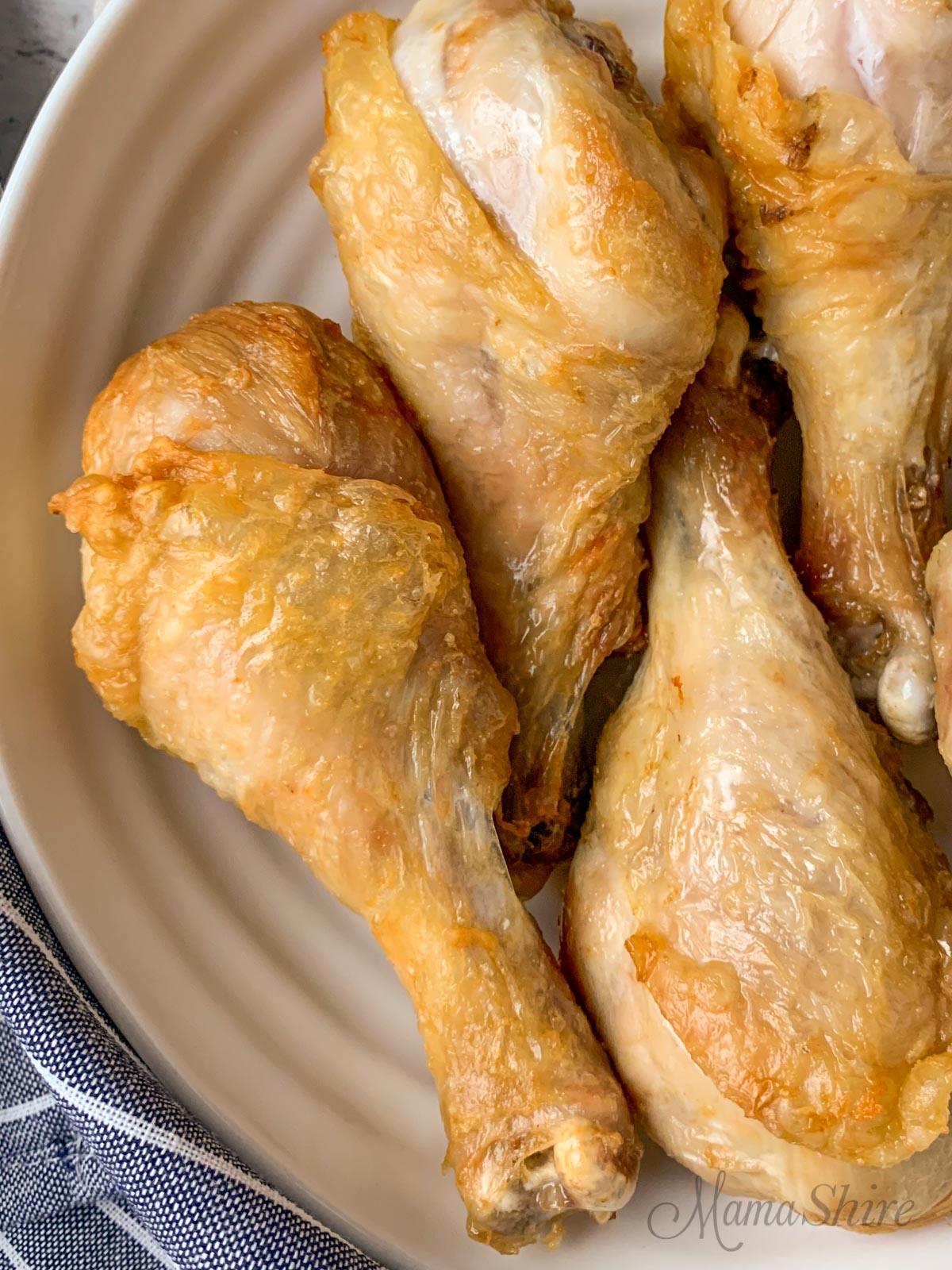 Easy Air Fryer Chicken Legs Recipe Gluten Free Keto Mamashire