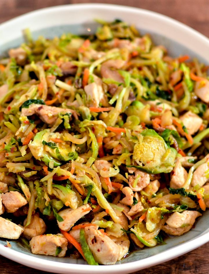 Easy Chicken Stir Fry - Gluten-free, Dairy-Free, Trim Healthy Mama