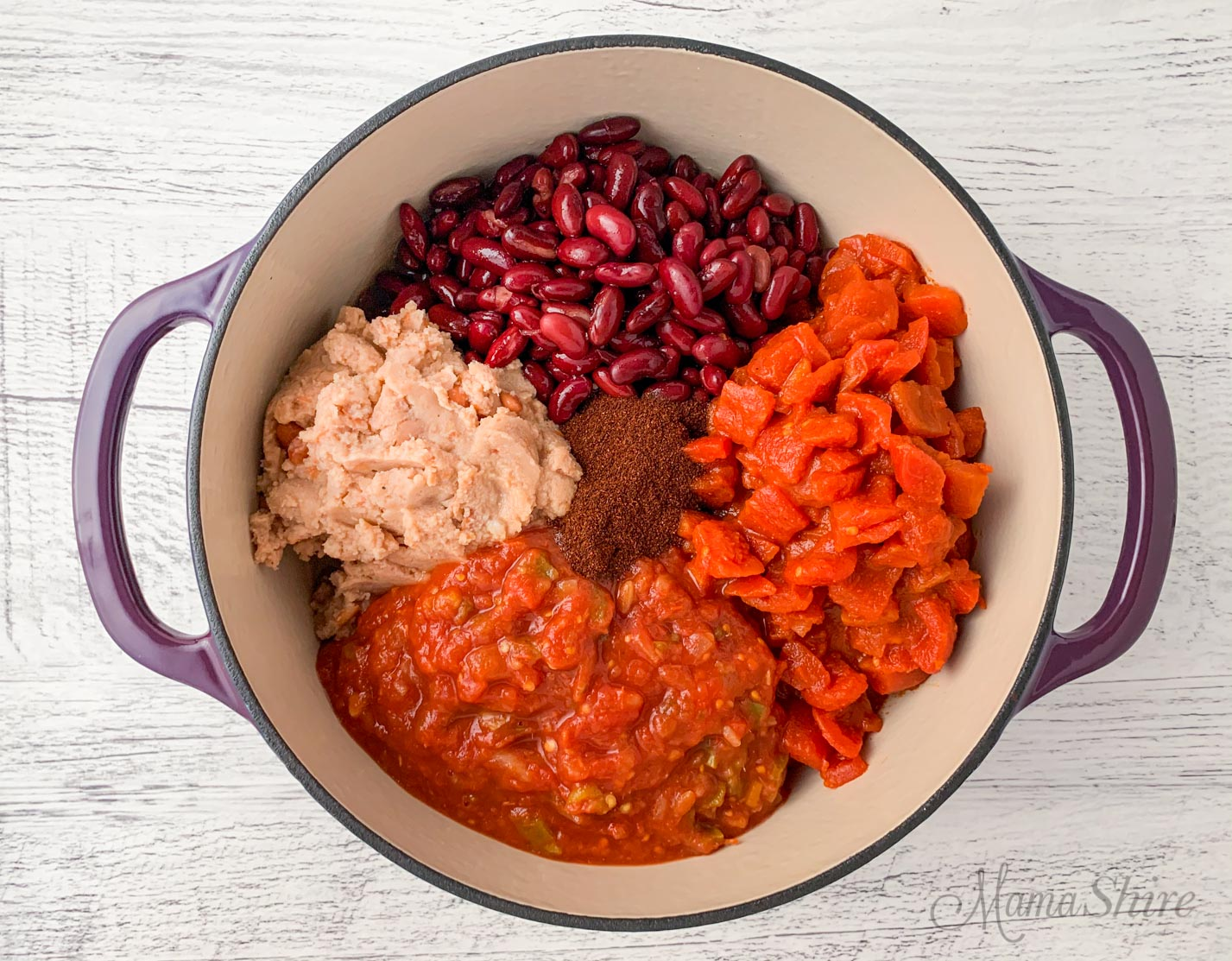 Gluten-Free Chili Ingredients.