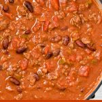 Easy chili made on the stove-top.
