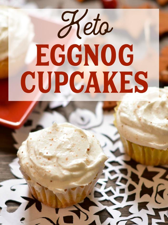 Gluten-free Eggnog Cupakes
