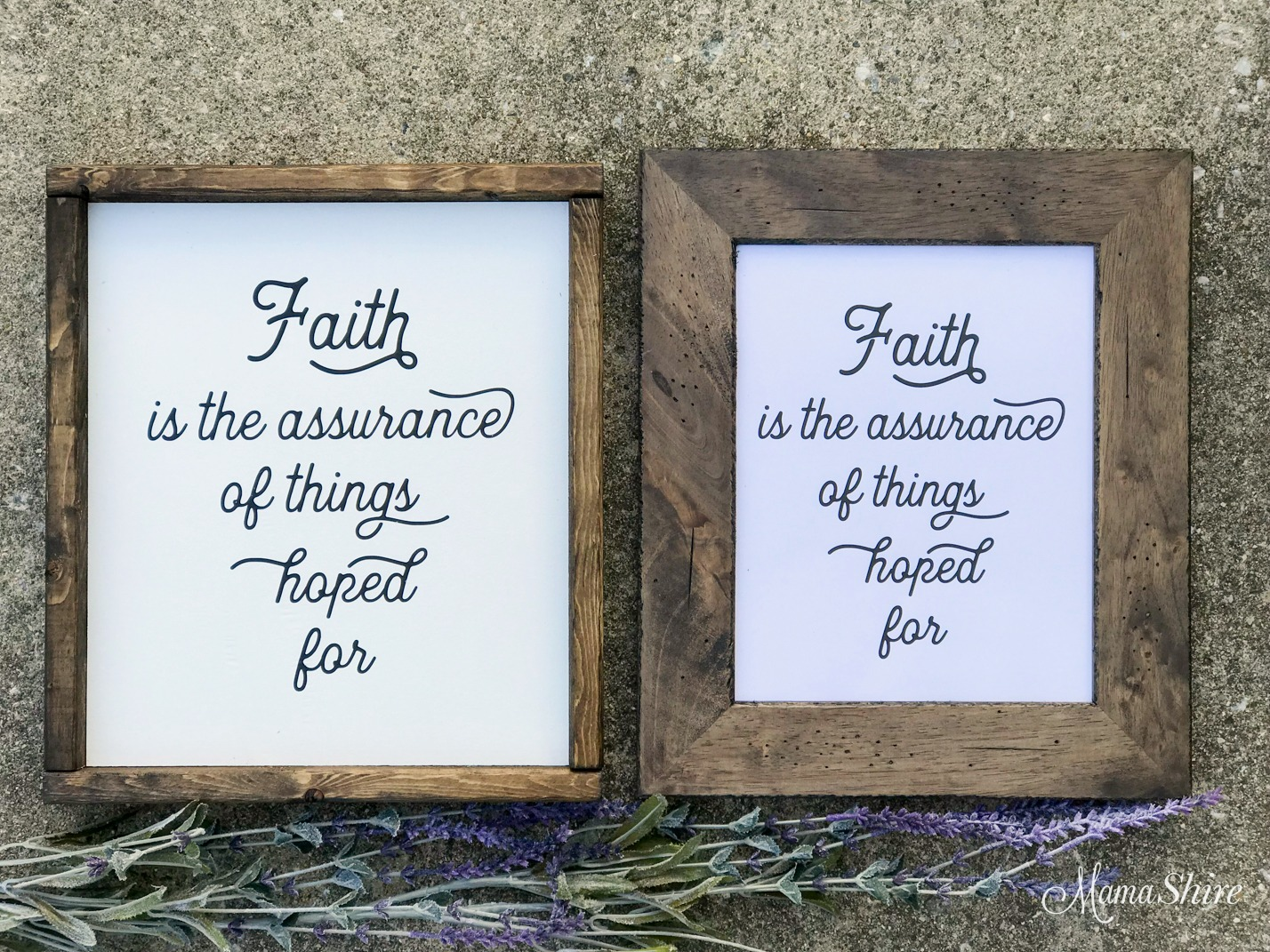 Faith is the Assurance Free SVG & Printable #26