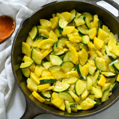 Fried Summer Squash