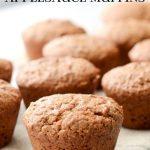 Gluten-Free Spice Applesauce Muffins