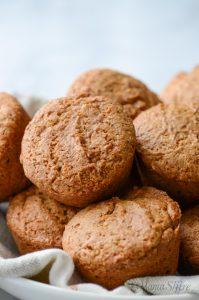 Gluten-free applesauce muffins.