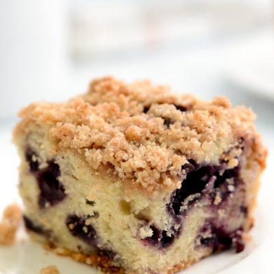 Gluten-Free Blueberry Coffee Cake (Dairy-Free)