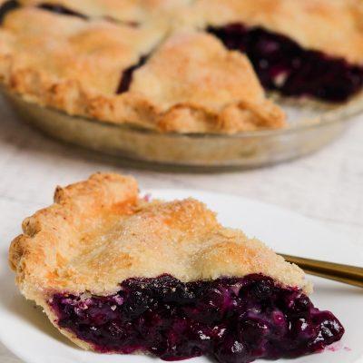 Gluten-Free Blueberry Pie (Dairy-Free)
