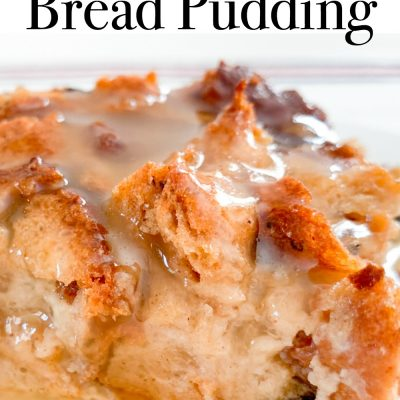 Gluten-Free Bread Pudding (Dairy-Free)
