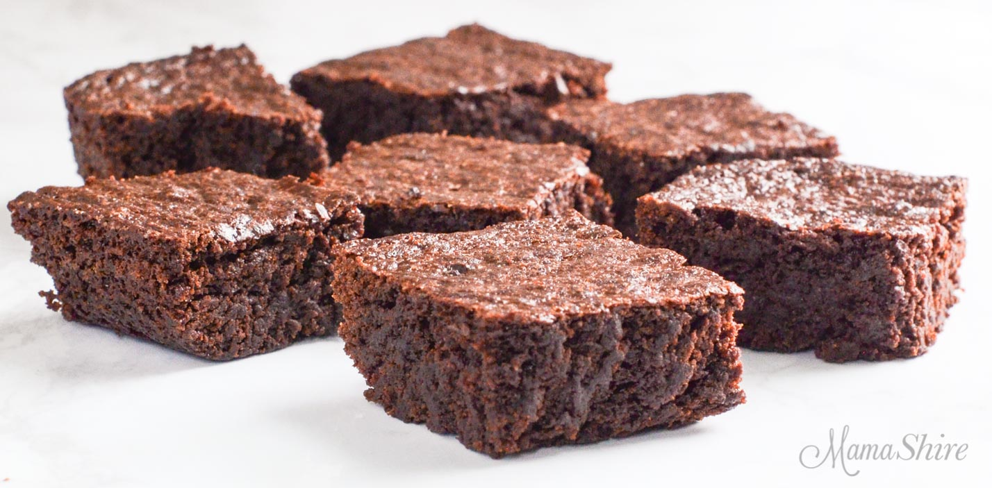 Easy to make brownies.
