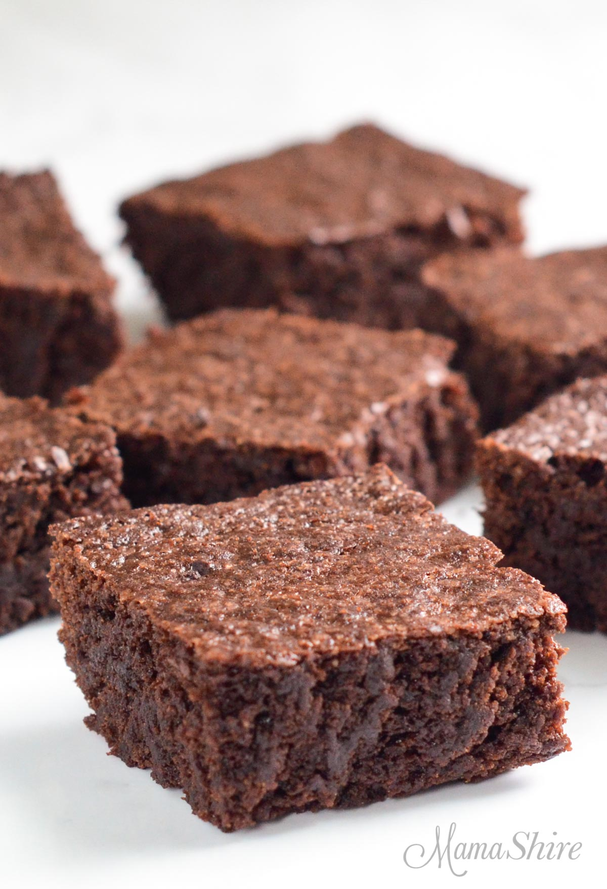 Chocolate gluten-free brownies. Part of my 15+ Gluten-Free Mother's Day Recipes collection.