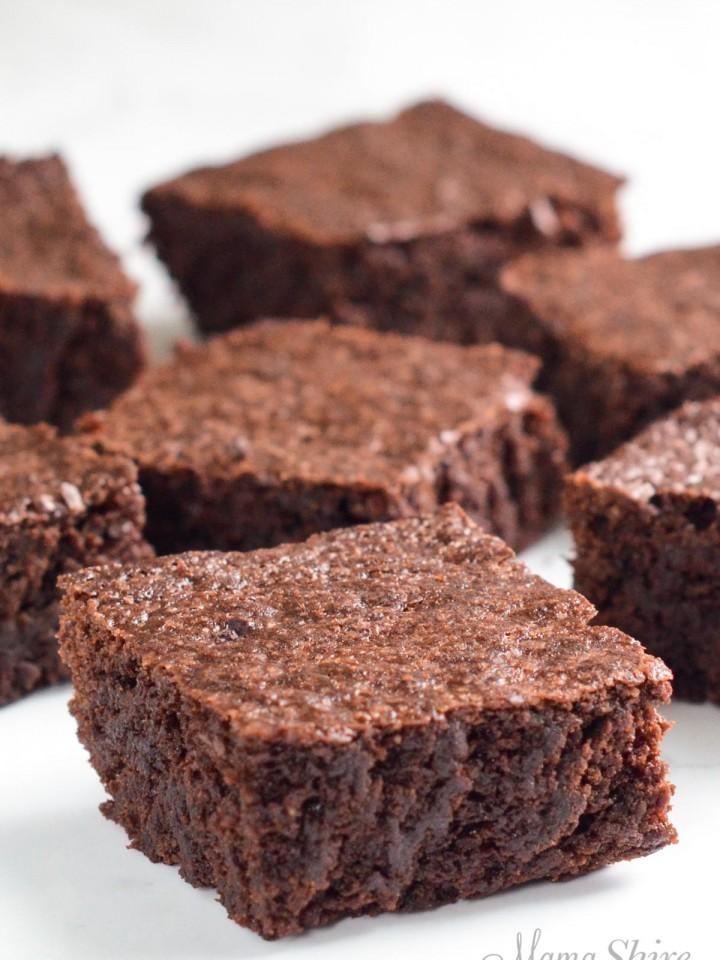The best fudgy gluten-free browines.