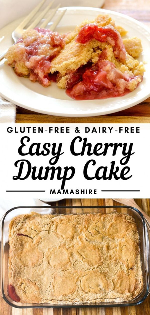 Easy to make dessert with cherry, crushed pineapple, and gluten-free cake mix.