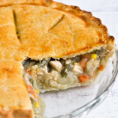 Gluten-Free Chicken Pot Pie (Dairy-Free)
