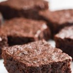 Deliciously fudgy brownie recipe from a gluten-free recipe