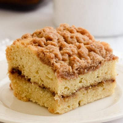 Gluten-Free Coffee Cake with Cinnamon Streusel (Dairy-Free)