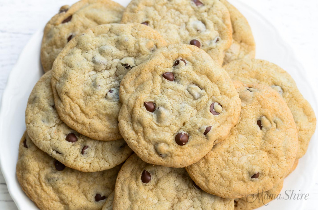 A pile of gluten-free and dairy-free cookies.