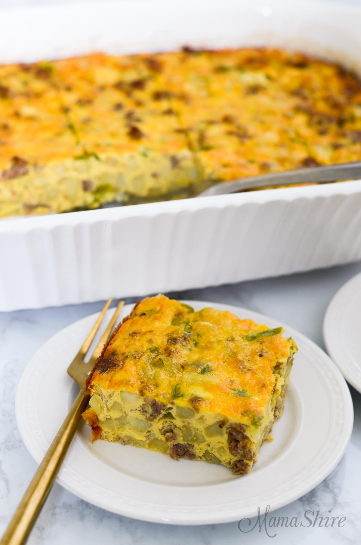 Yummy breakfast casserole that's part of my 15+ Gluten-Free Mother's Day Recipes