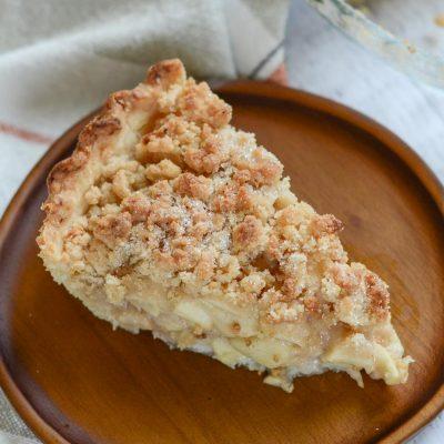Gluten-Free Dutch Apple Pie (Dairy-Free)