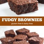 Chewy gluten-free brownies.