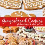 Dairy-Free Gingerbread cookies