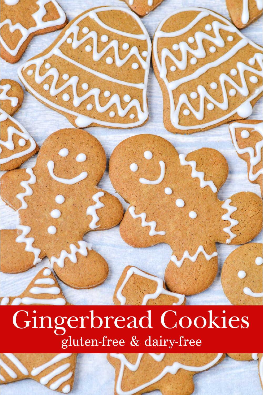 Gluten-free gingerbread cookies.