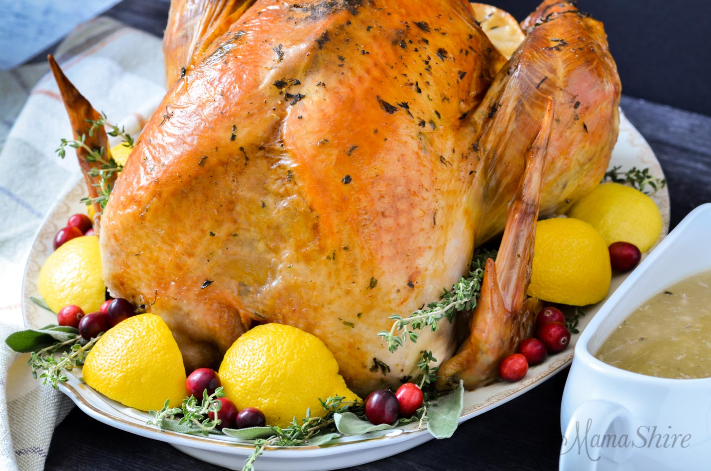 Gluten-Free Herb Roasted Turkey