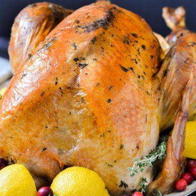 Gluten-Free Herb Roasted Turkey (Dairy-Free)