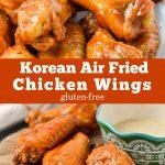 Korean Air Fried Chicken Wings