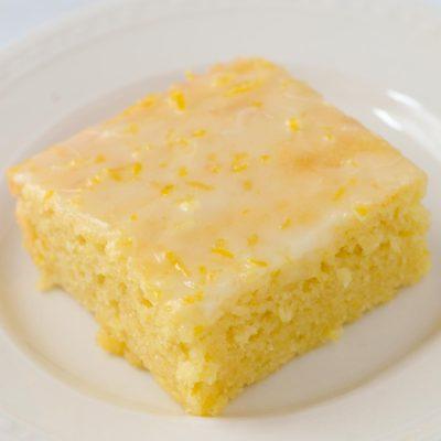 Moist Gluten-Free Lemon Brownies (Dairy-Free)