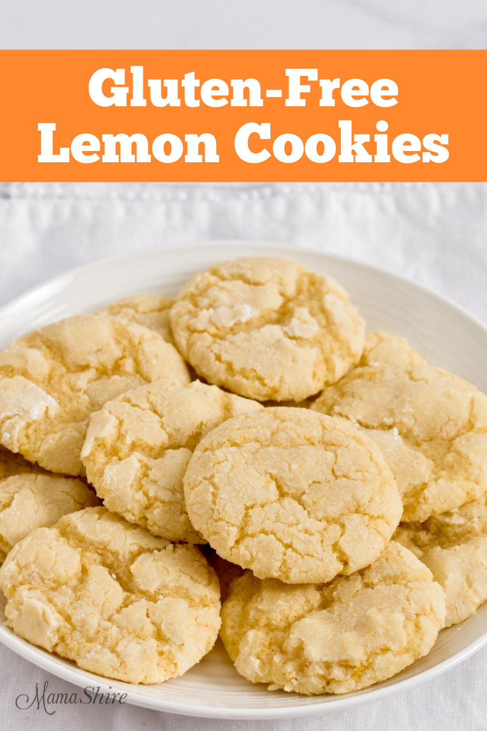 Easy to make gluten-free cookies.
