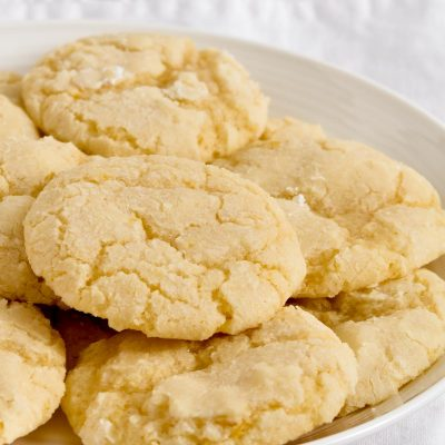Gluten-Free Lemon Cookies (Dairy-Free)
