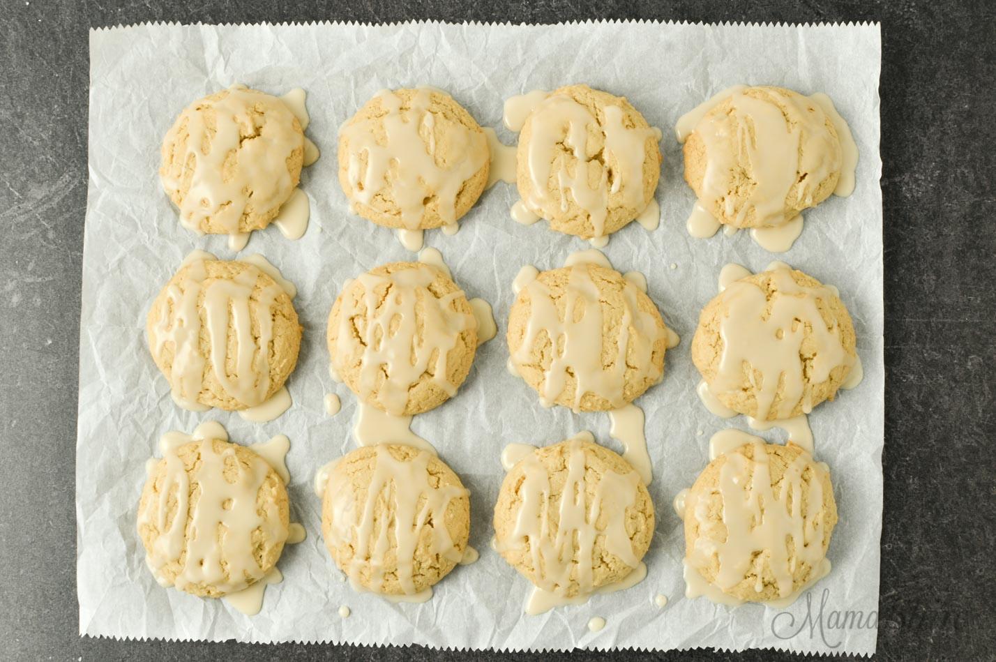 Gluten-free maple brown sugar cookies.