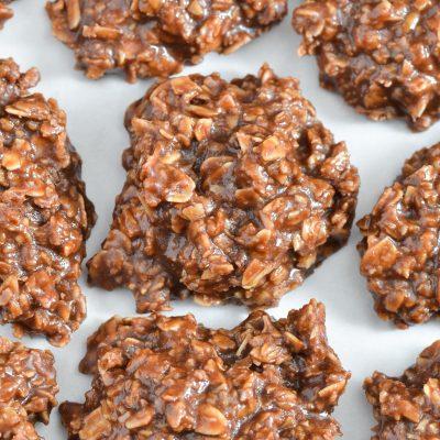 Gluten-Free No Bake Cookies (Dairy-Free)