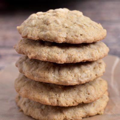 Gluten-Free Oatmeal Cookies (Dairy-Free)