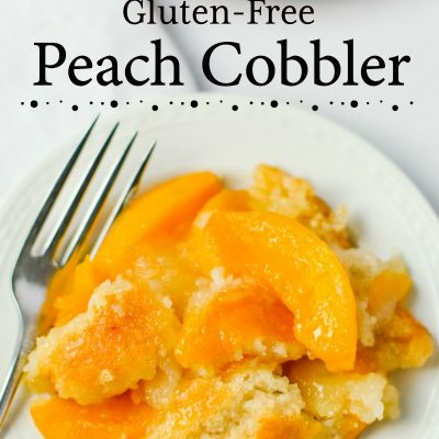 Easy Gluten-Free Peach Cobbler Recipe