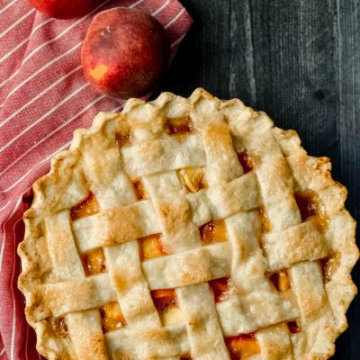 Gluten-Free Peach Pie Recipe (Dairy-Free)