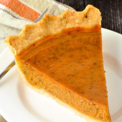 Gluten-Free Pumpkin Pie (Dairy-Free)