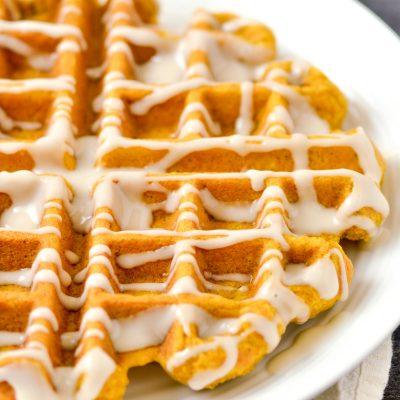 Gluten-Free Pumpkin Spice Waffles Recipe (Dairy-free)